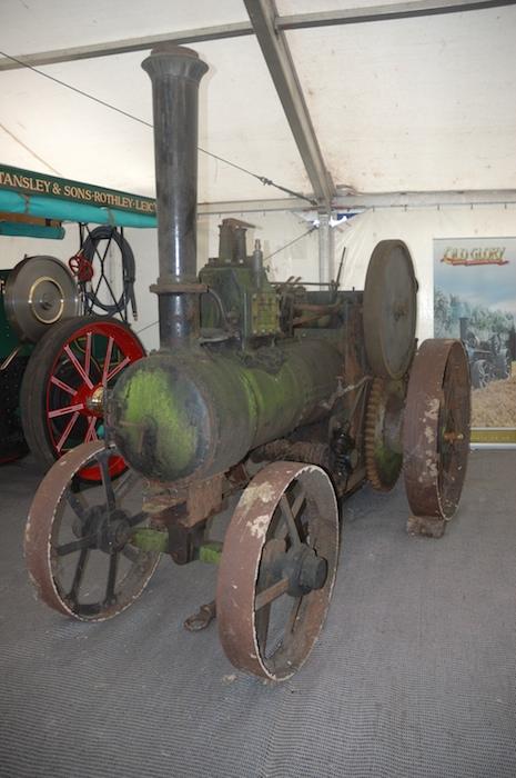 Unseen Wallis Tractor