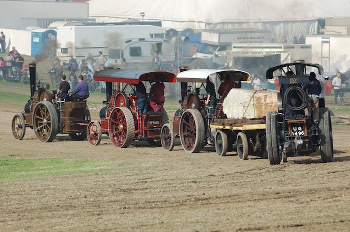 Fowler Tiger Tractors